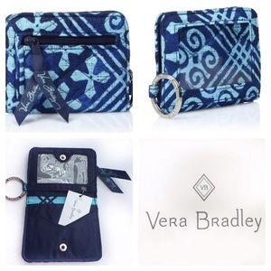 Vera Bradley Campus Double ID Case Cuban Tiles